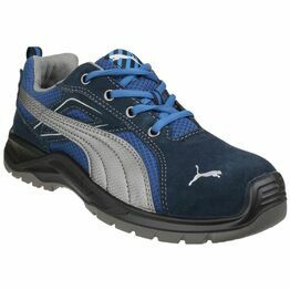Puma Safety Omni Sky Low Lace Up Safety Shoes in Blue