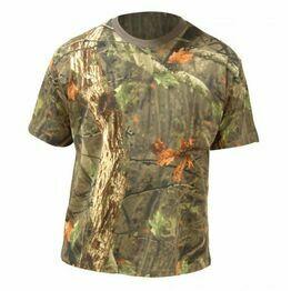 Highlander Short Sleeved Camo T-Shirt