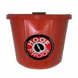 Mitchell Hoof Proof 15L Heavy Duty Bucket - Red