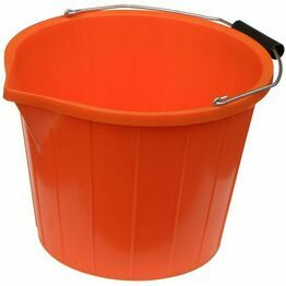 Mitchell 3 Gallon Buffalo Water Bucket - Orange