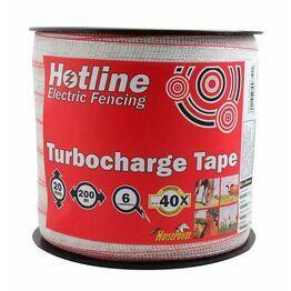 Hotline 20mm Turbocharge White Electrotape