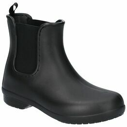 Crocs Freesail Chelsea Boot in Black/Black