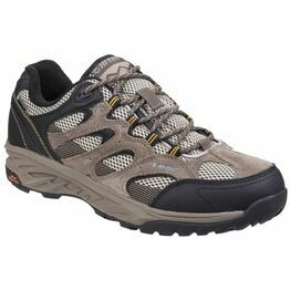 Hi-Tec Wild-Fire Low I Waterproof Wal in Taupe/Dune/Core Gold