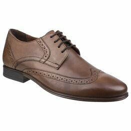 Hush Puppies Bertrand Wing Tip Shoe in Brown