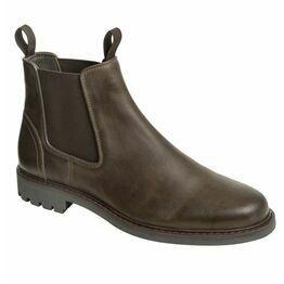 Hoggs Banff Leather Dealer Boots - Dark Brown
