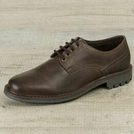 Hoggs Brora Derby Shoe - Dark Brown