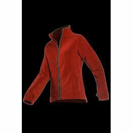 Baleno Sarah Ladies Fleece Jacket - Brick 768B