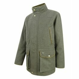 Hoggs Lairg Waterproof Wool Field Jacket - Dark Green