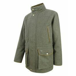 Hoggs Lairg Waterproof Wool Field Jacket - Dark Green