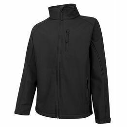 Hoggs Showerproof Magma Softshell Jacket - Black