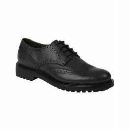 Hoggs Of Fife Leather Prestwick Brogue - Black