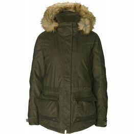 Seeland North Ladies Hooded Jacket - Pine Green