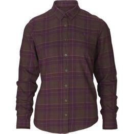 Seeland Range Ladies Red Check Shirt