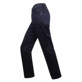 Hoggs Ladies Stretch Cord Jeans - Navy