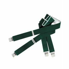 Hoggs Heavy Duty Trouser Braces - Green
