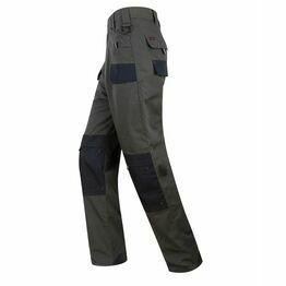 Hoggs of Fife Granite Active Ripstop Thermal Trousers - Grey/Black