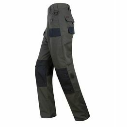 Hoggs of Fife Granite Active Ripstop Unlined Trousers - Grey/Black