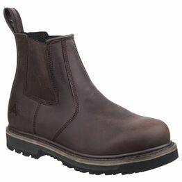 Amblers Carlisle Waterproof Dealer Work Boot in Brown
