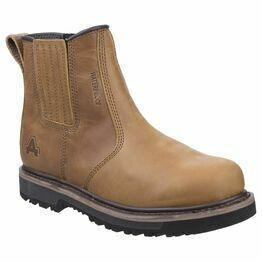 Amblers Kennoway Waterproof Dealer Work Boot in Tan