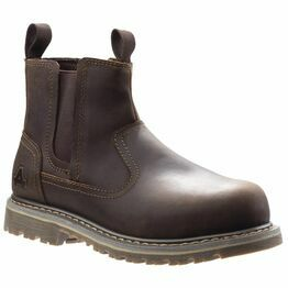 Amblers Safety AS101 Alice Slip-On Steel Toe Safety Boot in Brown