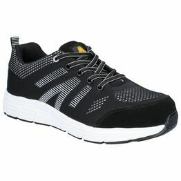 Amblers Safety FS714 BOLT Lace Up Safety Trainer in Black