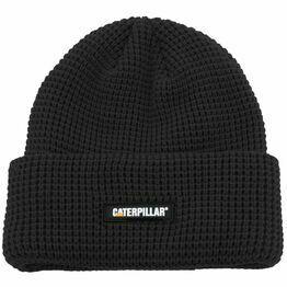 Caterpillar Black Grid Watch Beanie