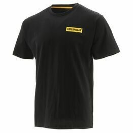 Icon Block Short-Sleeved Tee in Black/Yellow