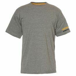 Caterpillar Essentials Short Sleeve T-Shirt in Dark Grey