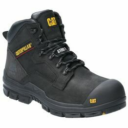 Caterpillar Bearing Lace Up Safety Boot in Black
