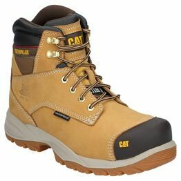 Caterpillar Spiro Lace Up Waterproof Safety Boot in Honey Reset