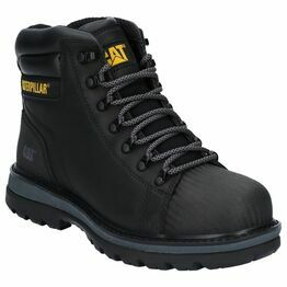 Caterpillar Foxfield Lace Up Safety Boot in Black