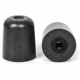 ISOtunes Trilogy Professional Foam Eartips in Black (M)