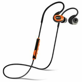ISOtunes PRO IT01 Bluetooth Noise-Isolating Earbuds in Black/Orange
