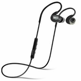 ISOtunes PRO IT03 Bluetooth Noise-Isolating Earbuds in Black
