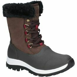 Muck Boots Arctic Après Leather Short Boot in Brown