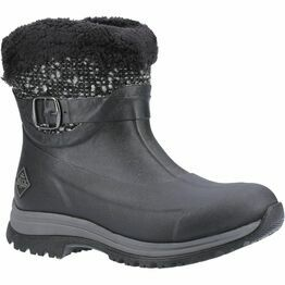 Apres Ankle Supreme Winter Boots in Black