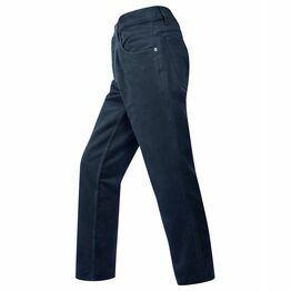 Hoggs of Fife Men's Moleskin Jeans in Dark Navy