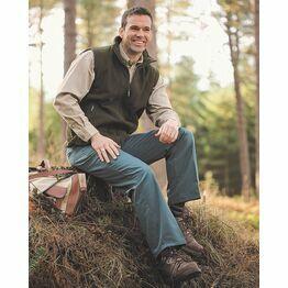 Hoggs of Fife Bushwhacker Unlined Stretch Trousers - Spruce Green