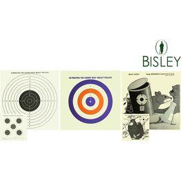 Bisley Grade 1 Paper Shooting Targets (17cm)