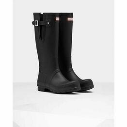 Hunter Original Adjustable Wellington Boots in Black