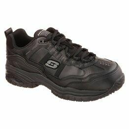 Skechers Soft Stride - Grinnell Work Shoe in Black