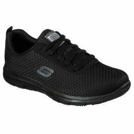 Skechers Genter - Bronaugh SR Work Shoe in Black