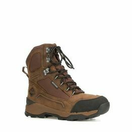 """Muck Boots Summit 8"""" Leather Boots in Brown"""