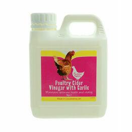 Battles Poultry Cider Vinegar with Garlic - 1 litre