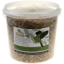 Natures Grub Mixed Corn & Mealworms - 1.6kg