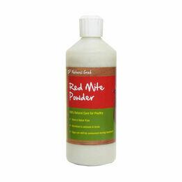 Natures Grub Red Mite Powder Puffer Bottle - 200g