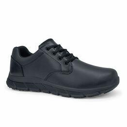 Saloon II Men's Slip Resistant Work Shoe in Black