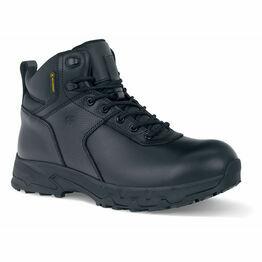 Stratton III Waterproof Work Boot in Black