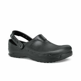 Zinc Slip Resistant Work Clog in Black