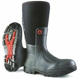 Dunlop Snugboot Pioneer Wellington Boot (Black)